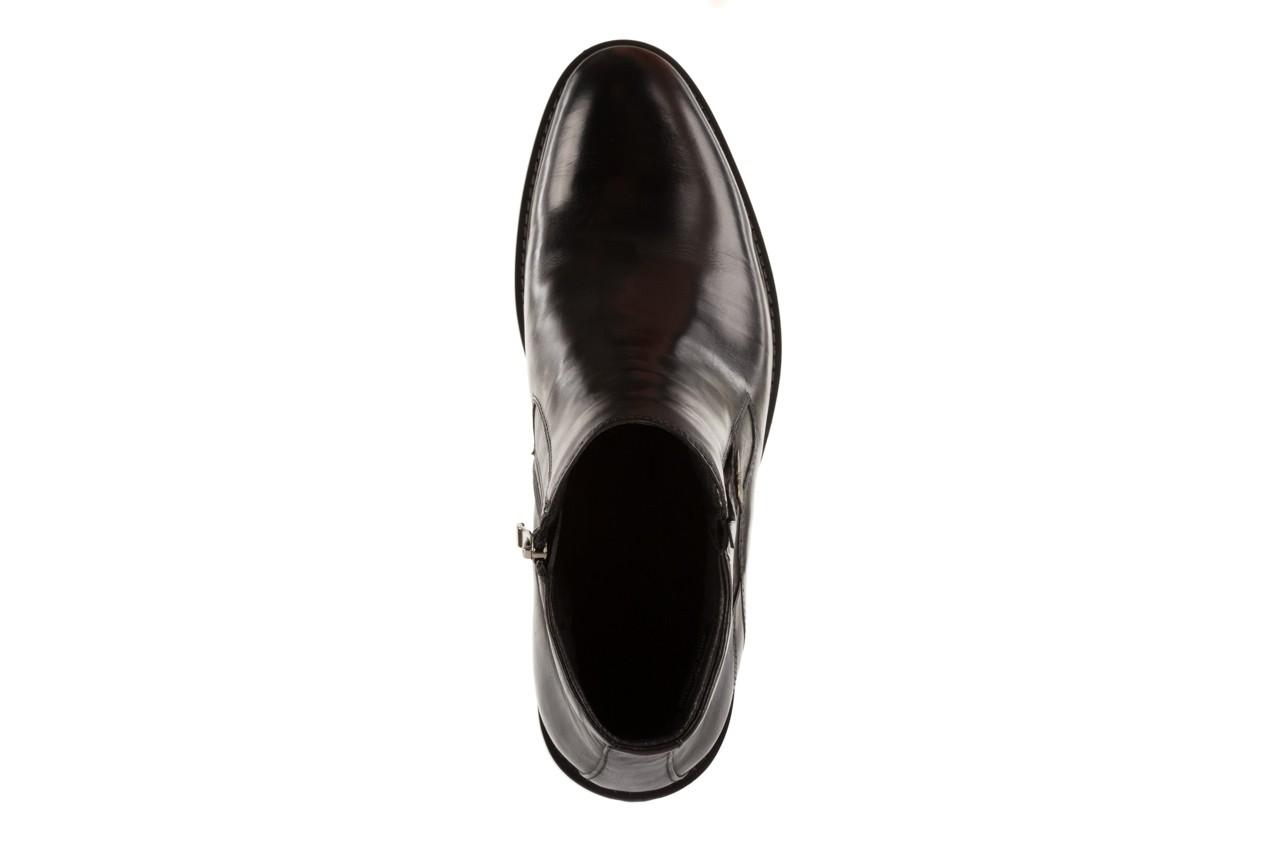 Trzewiki john doubare y2308-22-2 black, czarny, skóra naturalna - brooman - nasze marki 10