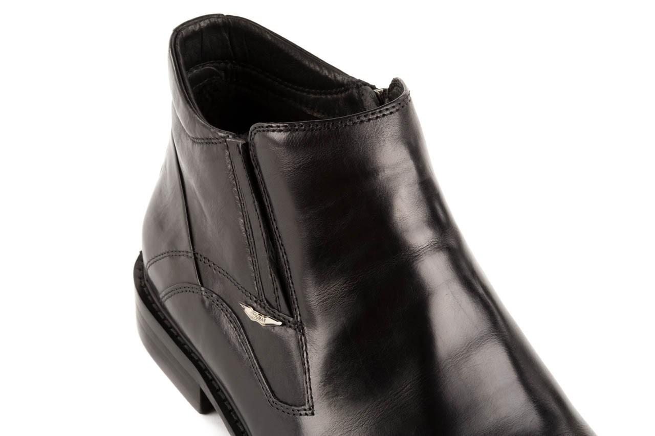 Trzewiki john doubare y2308-22-2 black, czarny, skóra naturalna - brooman - nasze marki 11