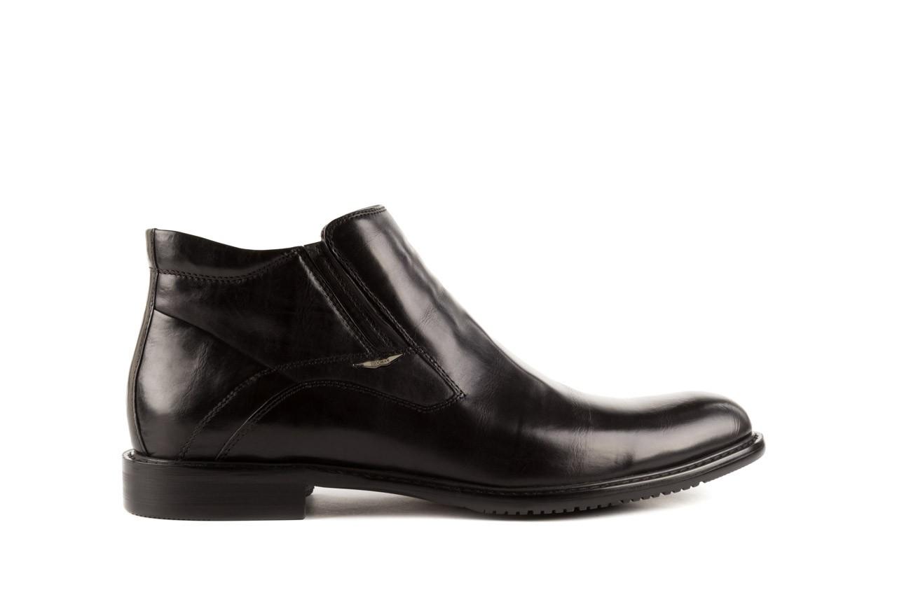 Trzewiki john doubare y2308-22-2 black, czarny, skóra naturalna - brooman - nasze marki 6