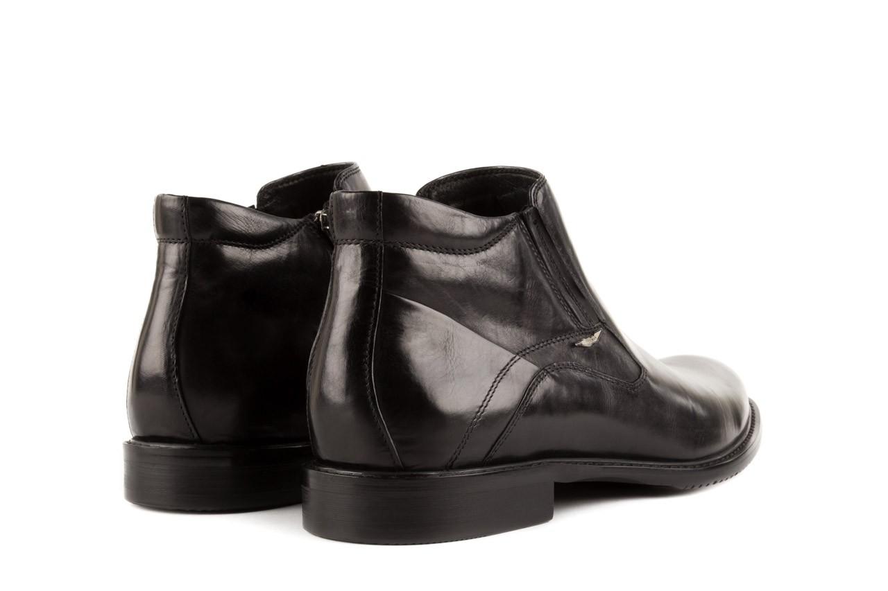 Trzewiki john doubare y2308-22-2 black, czarny, skóra naturalna - brooman - nasze marki 9
