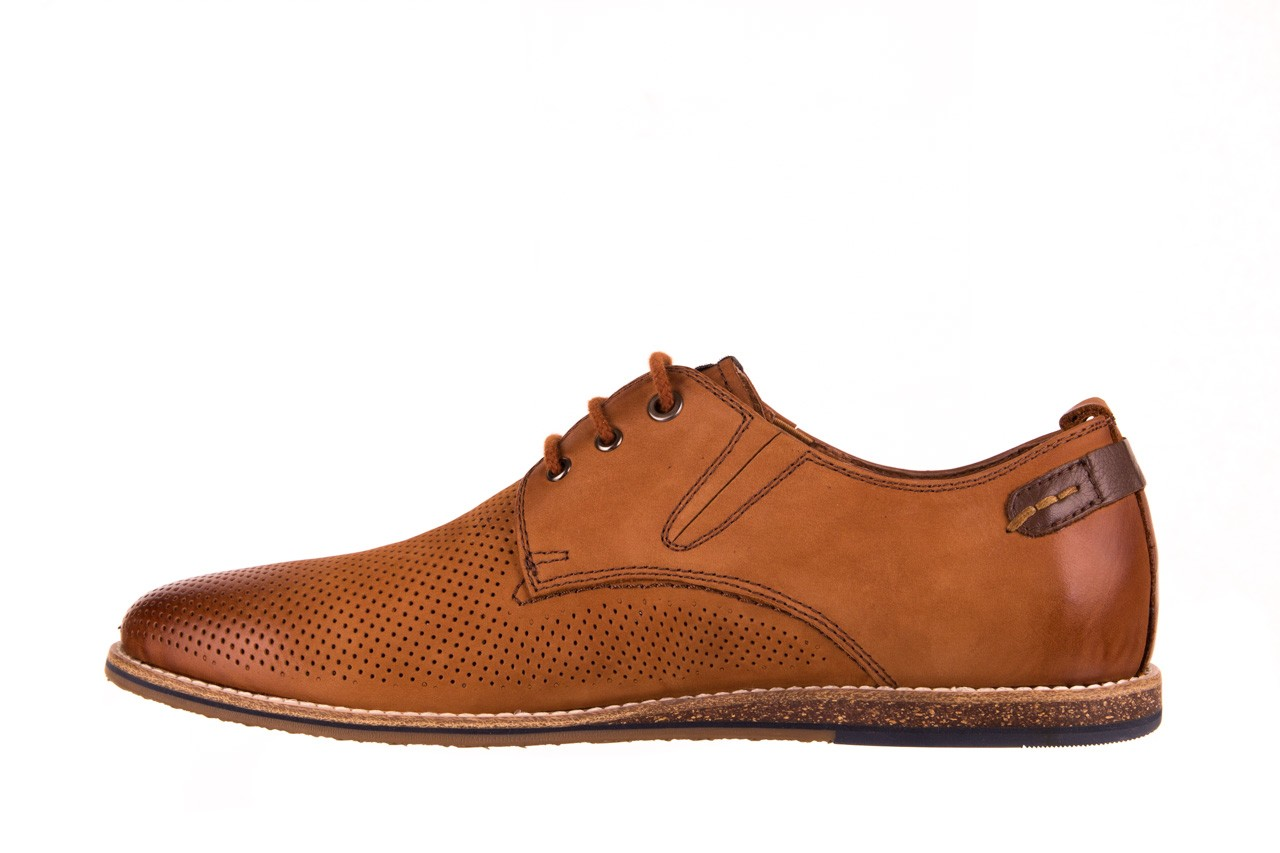 Półbuty john doubare p1227-05d brown, brąz, skóra naturalna  - półbuty - dla niego - sale 8