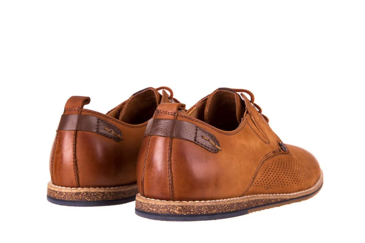 Półbuty john doubare p1227-05d brown, brąz, skóra naturalna  - brooman - nasze marki 9