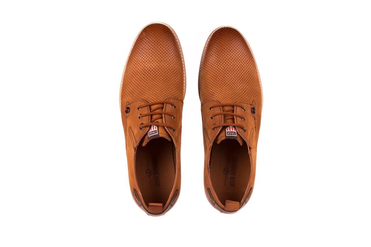 Półbuty john doubare p1227-05d brown, brąz, skóra naturalna  - brooman - nasze marki 10