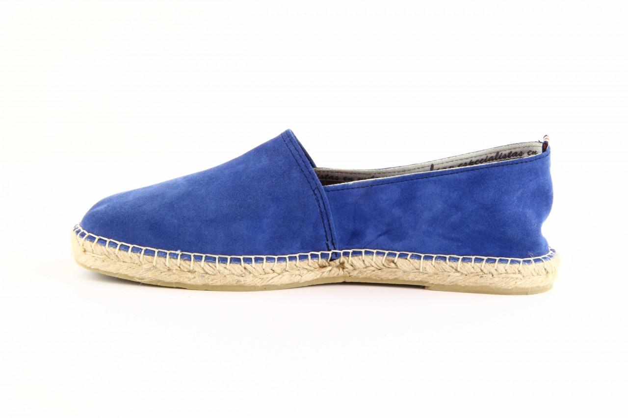 Mokasyny laro pepe 14l jeans, niebieski, skóra naturalna 9