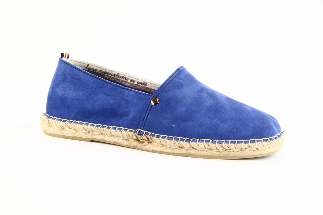 Mokasyny laro pepe 14l jeans, niebieski, skóra naturalna 11