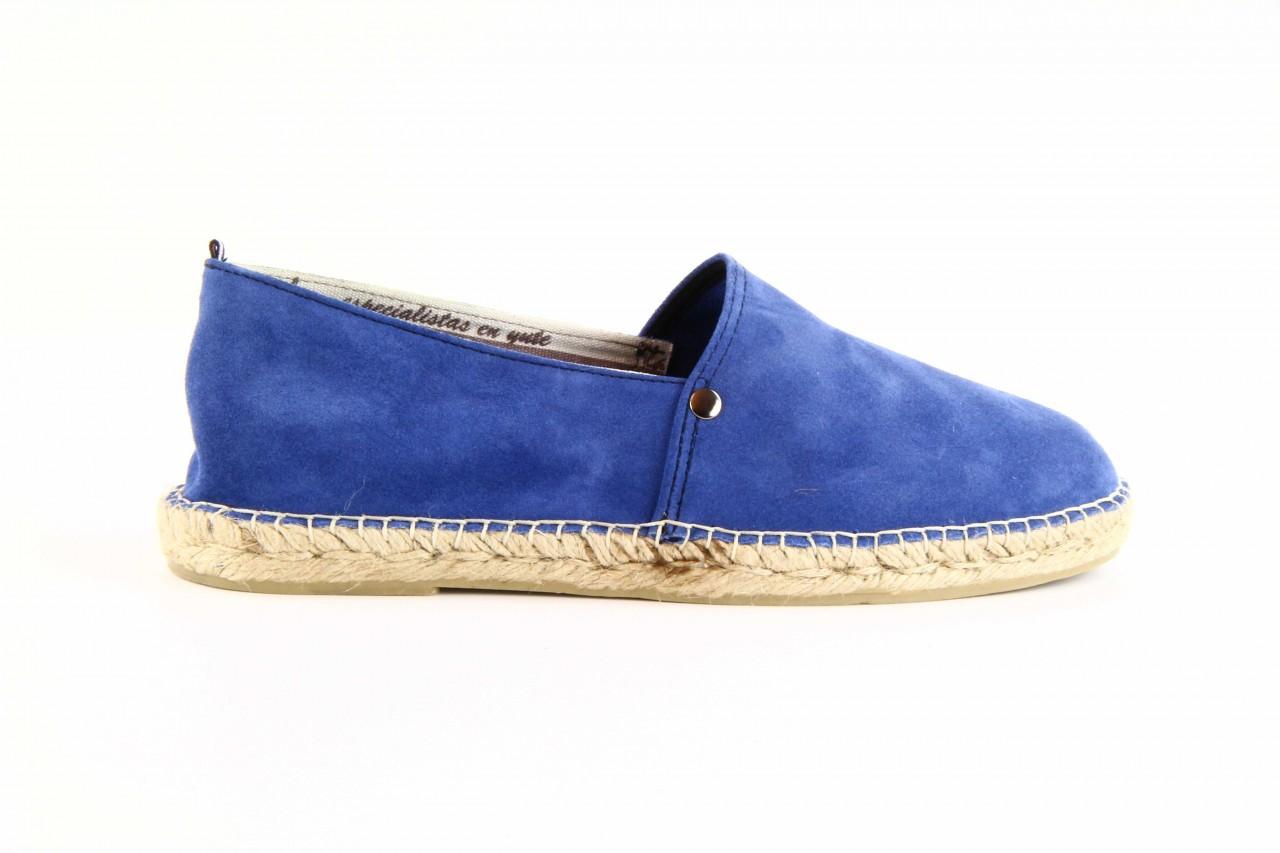 Mokasyny laro pepe 14l jeans, niebieski, skóra naturalna 10