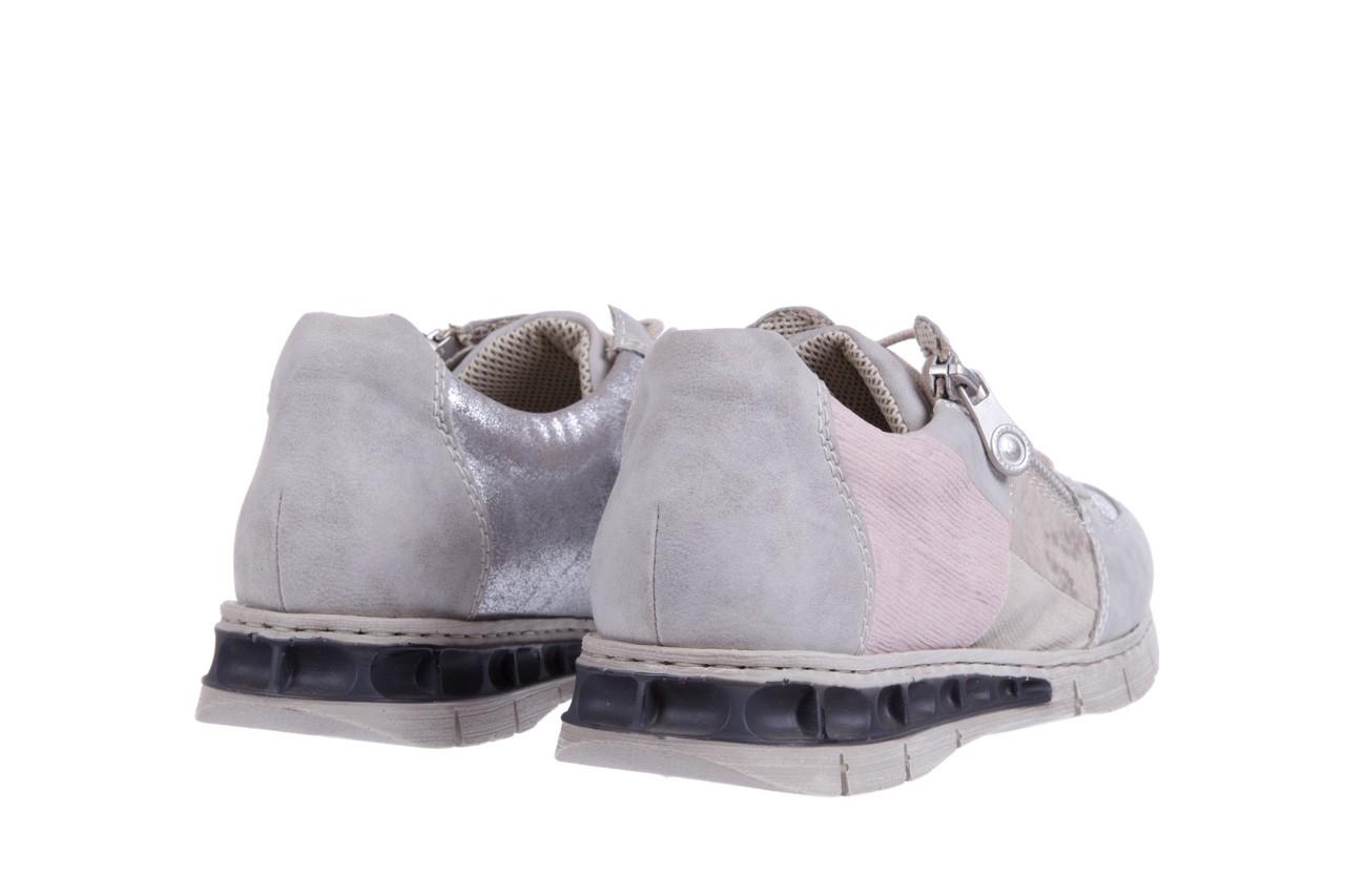 Rieker m2840-40 grey combination 9