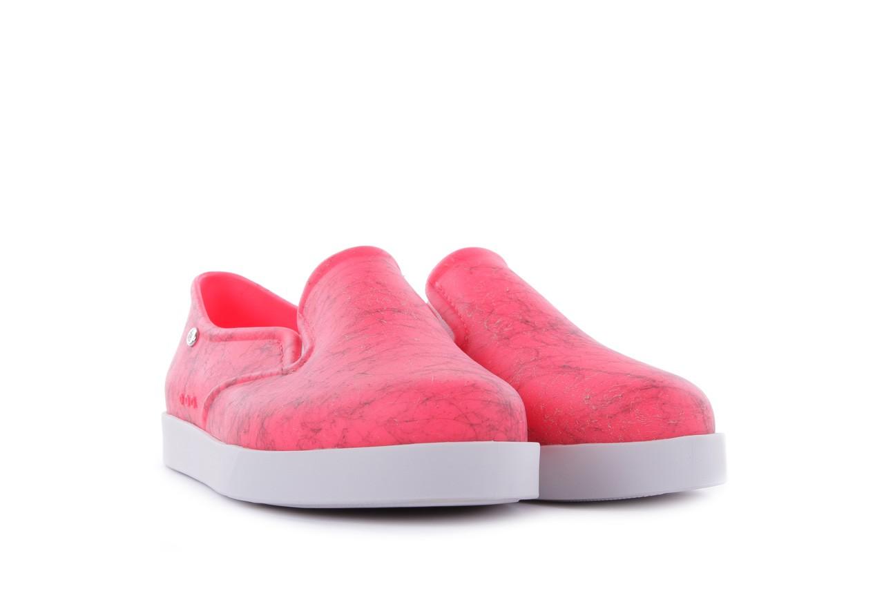 Trampki mel 32152 pink white, róż/biały, guma 7
