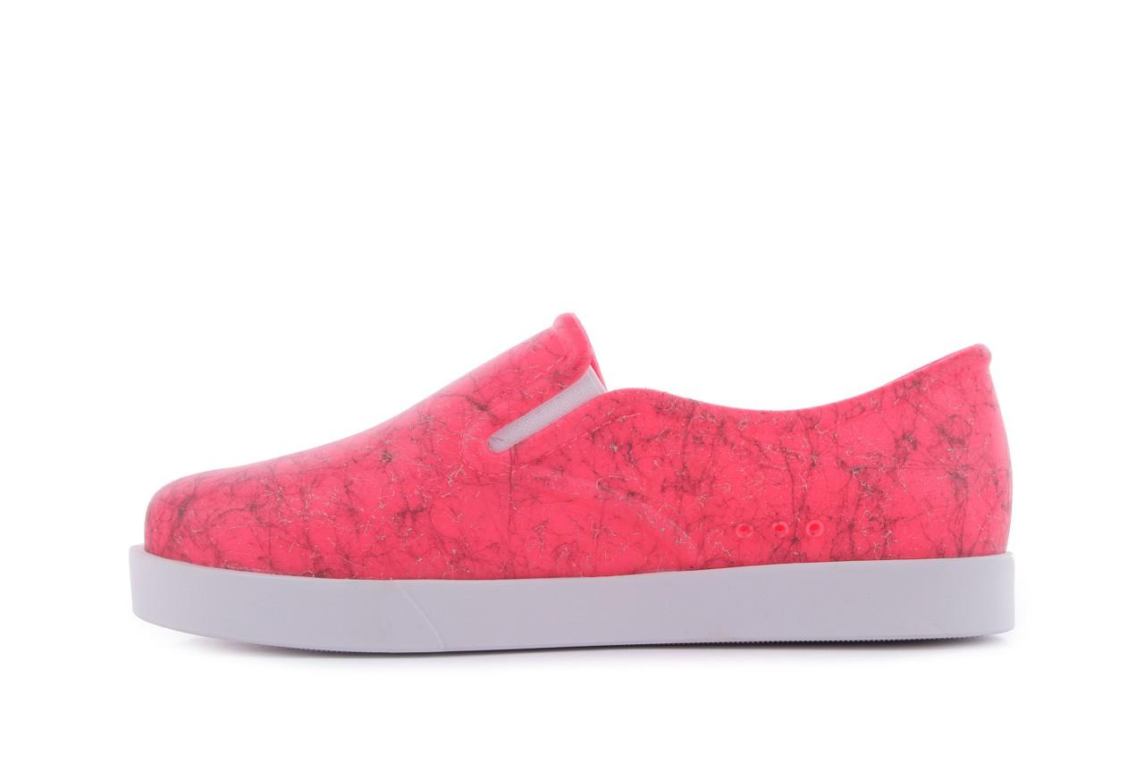 Trampki mel 32152 pink white, róż/biały, guma 8