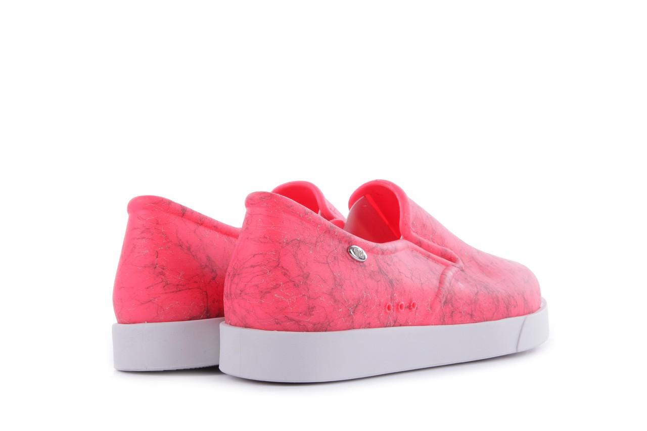 Trampki mel 32152 pink white, róż/biały, guma 9