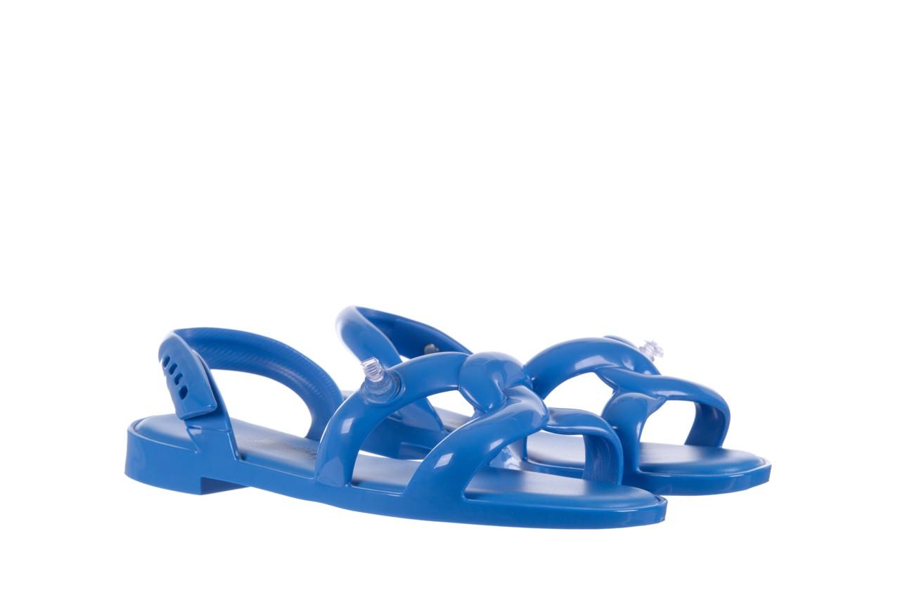 Sandały melissa tube sandal jeremy sc blue, niebieski, guma - melissa - nasze marki 7