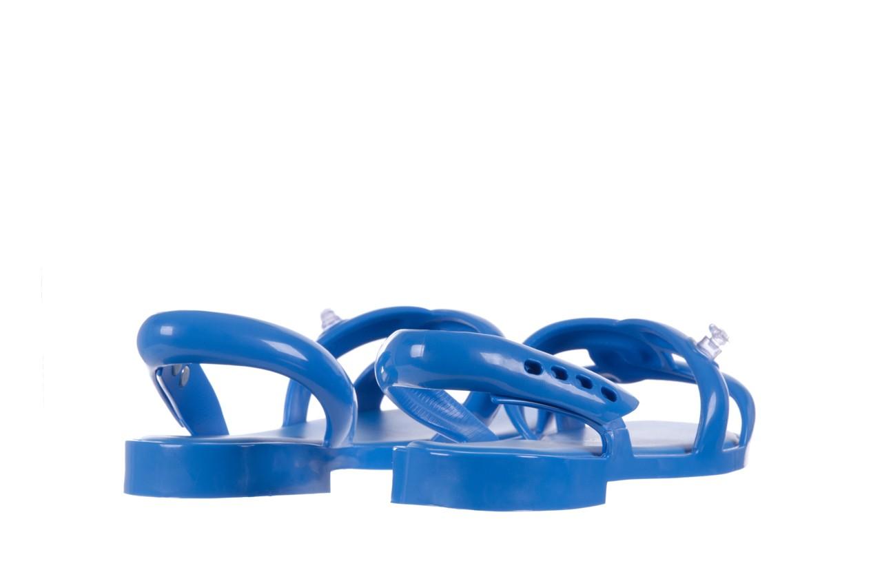 Sandały melissa tube sandal jeremy sc blue, niebieski, guma - melissa - nasze marki 9