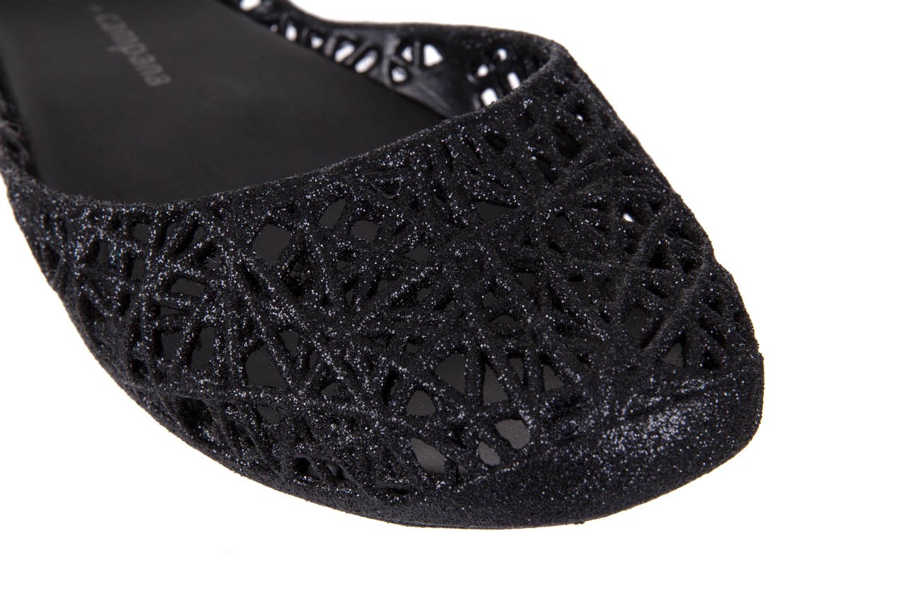 Melissa campana papel zig zag ii ad black glitter - melissa - nasze marki 11