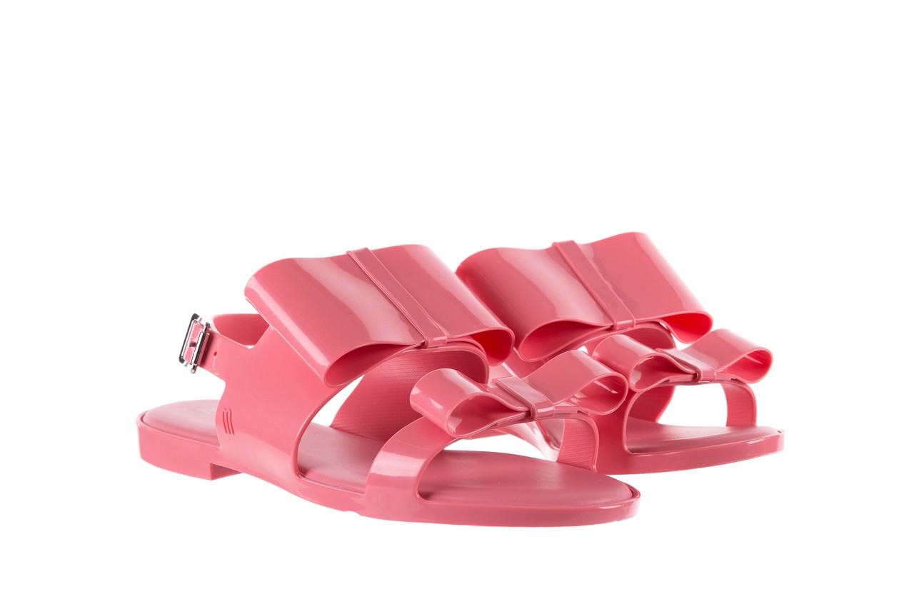 Sandaly melissa classy ii ad pink, róż, guma 8