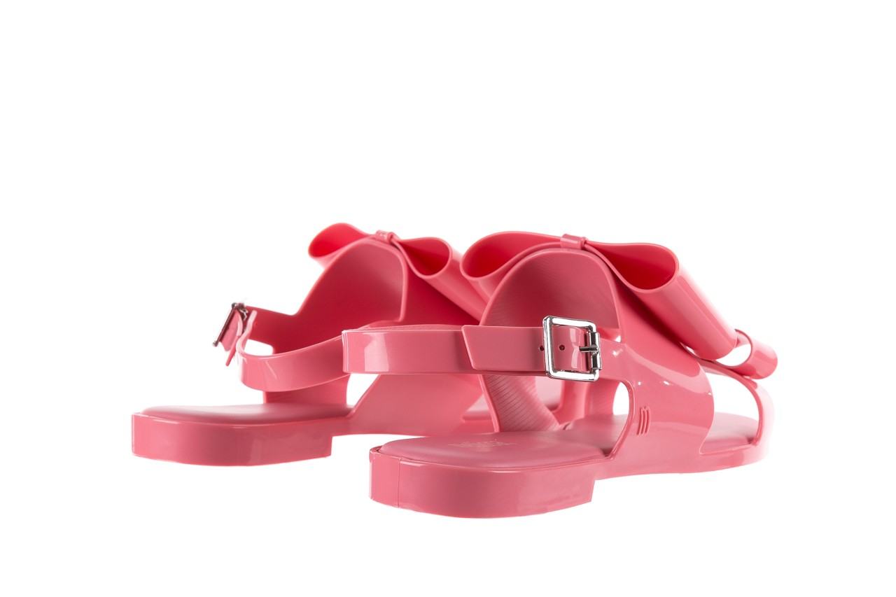 Sandaly melissa classy ii ad pink, róż, guma 10