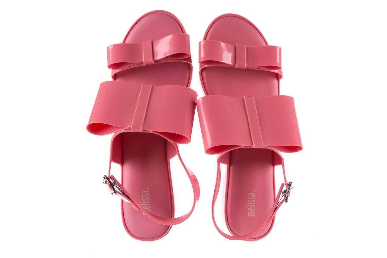 Sandaly melissa classy ii ad pink, róż, guma 11