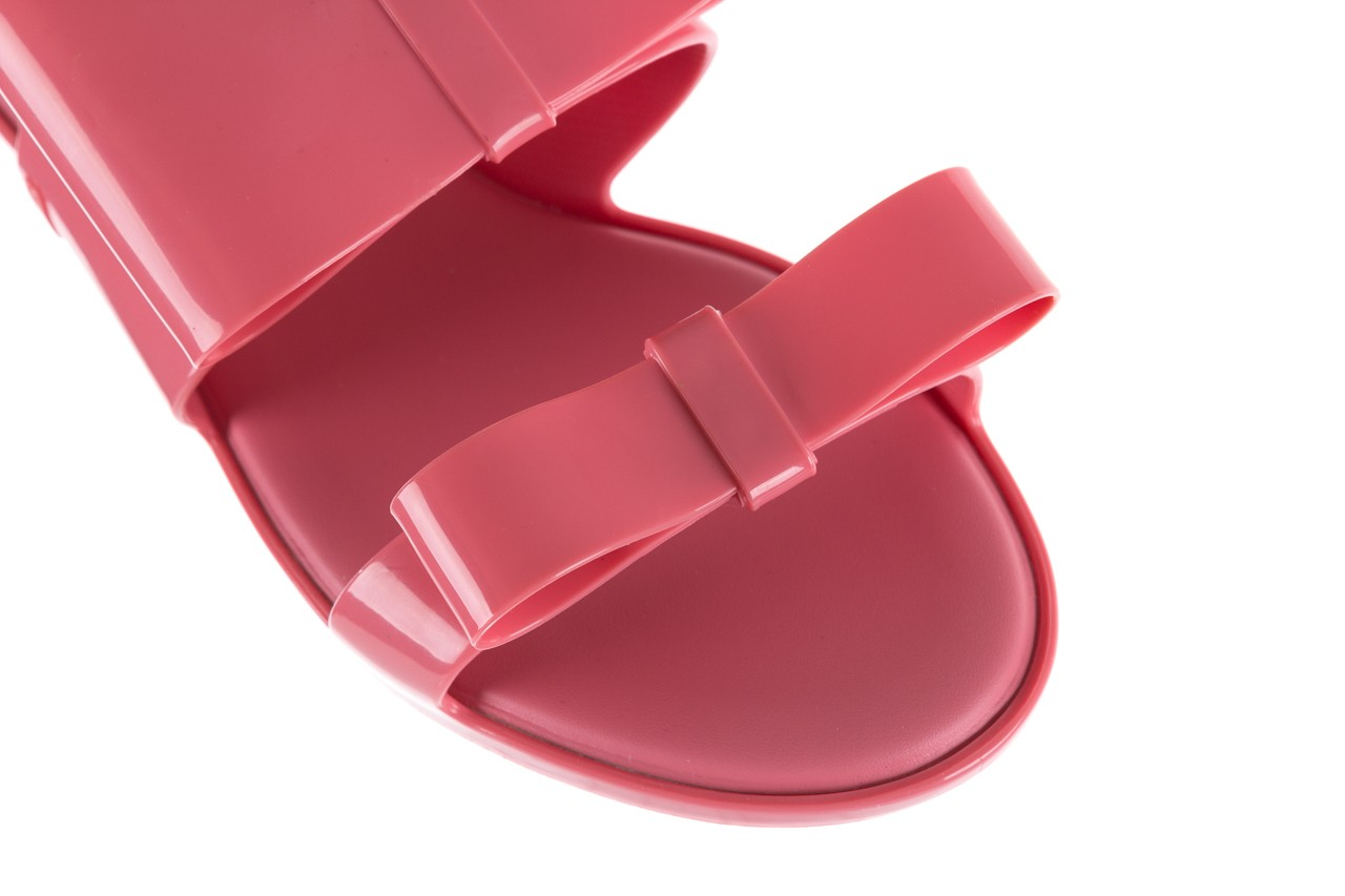 Sandaly melissa classy ii ad pink, róż, guma 12