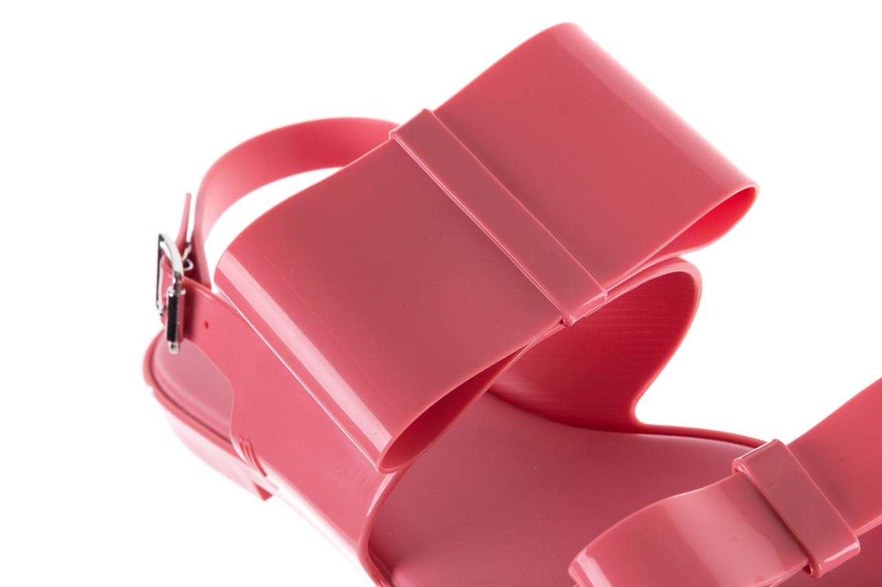 Sandaly melissa classy ii ad pink, róż, guma 13