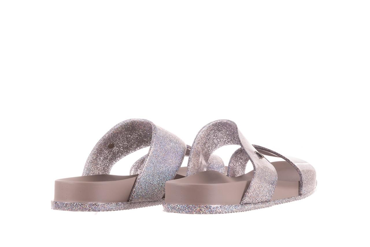 Klapki melissa cosmic ad glitter silver, srebrny, guma - melissa - nasze marki 9