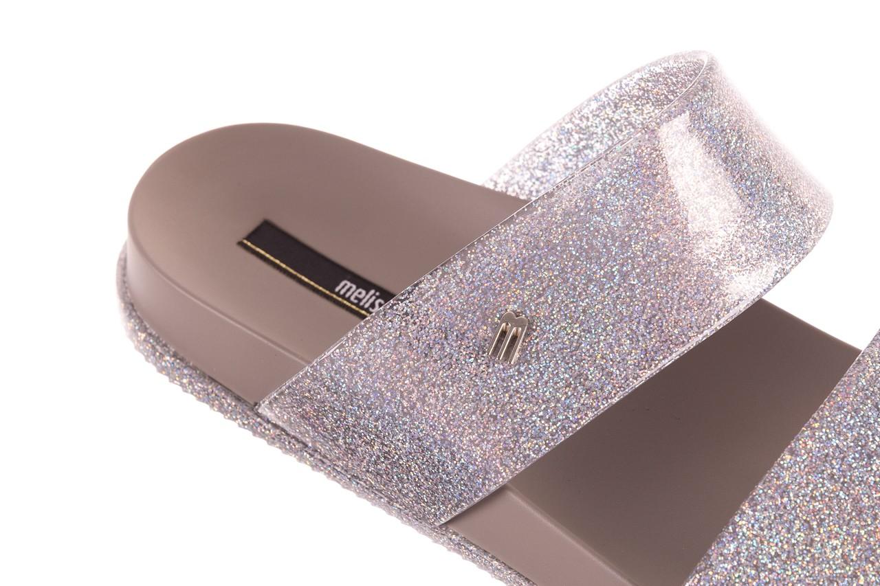 Klapki melissa cosmic ad glitter silver, srebrny, guma - melissa - nasze marki 11