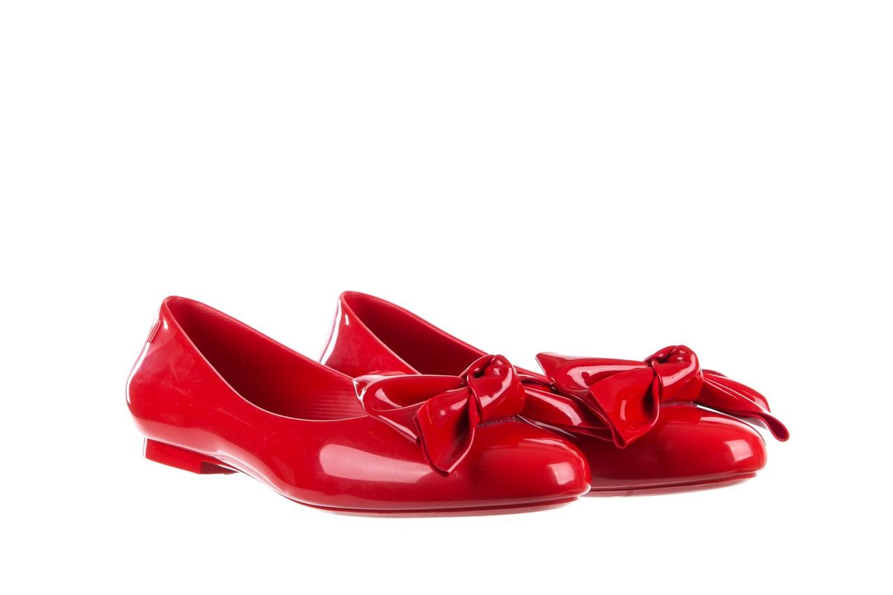Baleriny melissa doll fem ii ad red, czerwony, guma - kobieta 9
