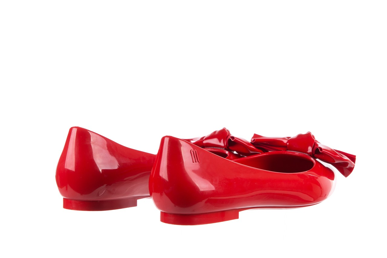Baleriny melissa doll fem ii ad red, czerwony, guma - kobieta 12