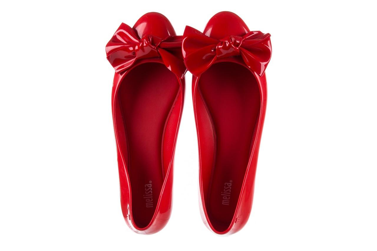 Baleriny melissa doll fem ii ad red, czerwony, guma - kobieta 13