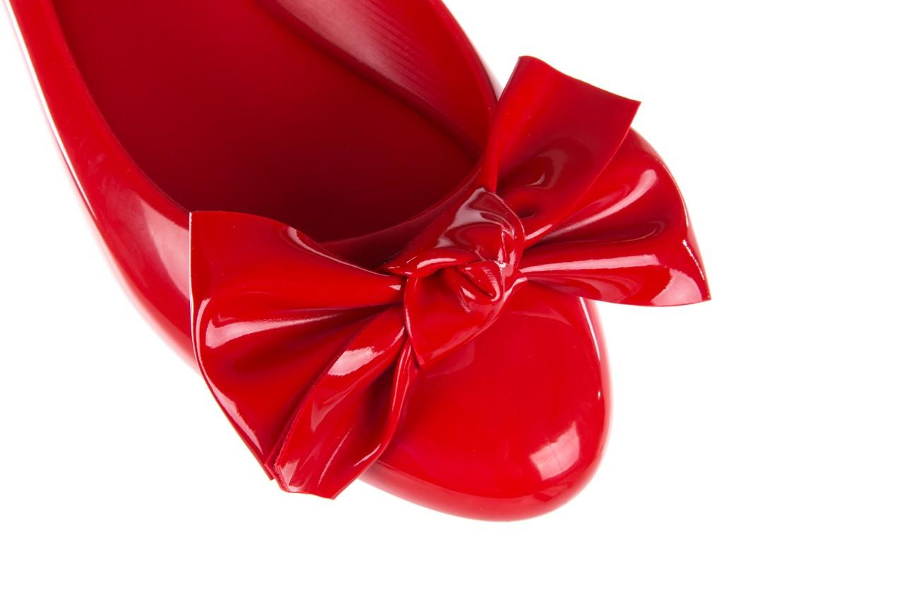 Baleriny melissa doll fem ii ad red, czerwony, guma - kobieta 14