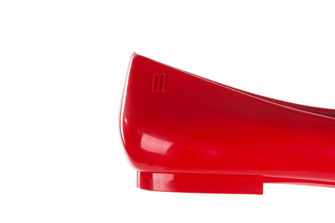 Baleriny melissa doll fem ii ad red, czerwony, guma - melissa - nasze marki 15