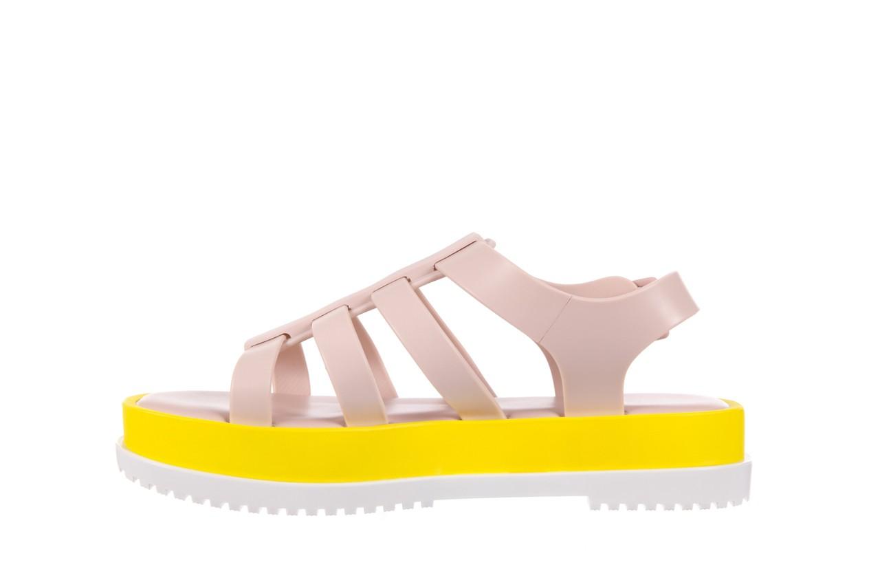Sandały melissa flox iii ad pink-yellow, beż, guma - melissa - nasze marki 9