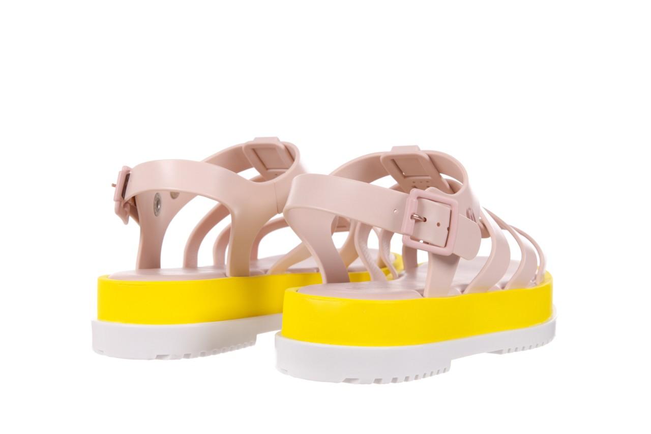 Sandały melissa flox iii ad pink-yellow, beż, guma - melissa - nasze marki 10