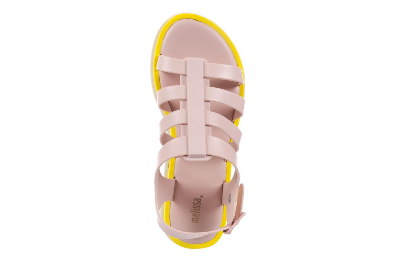Sandały melissa flox iii ad pink-yellow, beż, guma - melissa - nasze marki 11