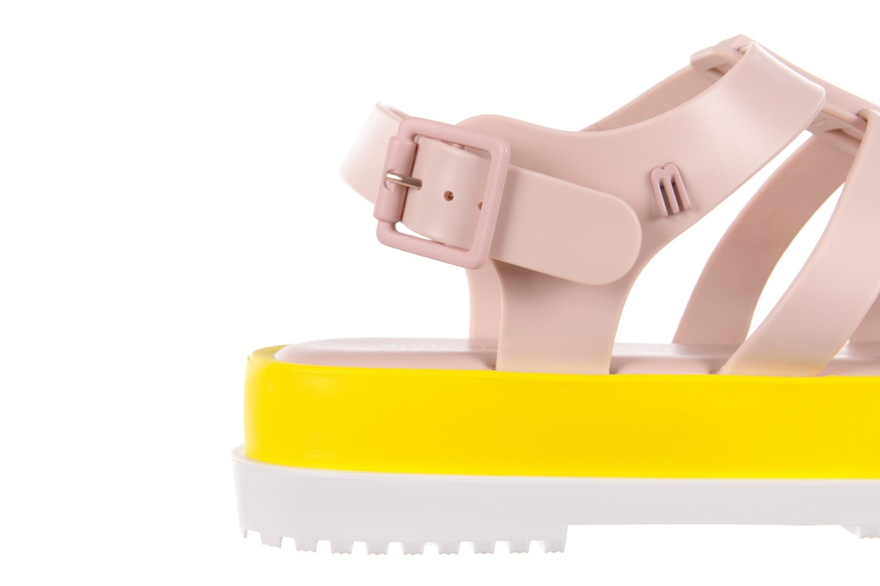 Sandały melissa flox iii ad pink-yellow, beż, guma - melissa - nasze marki 12