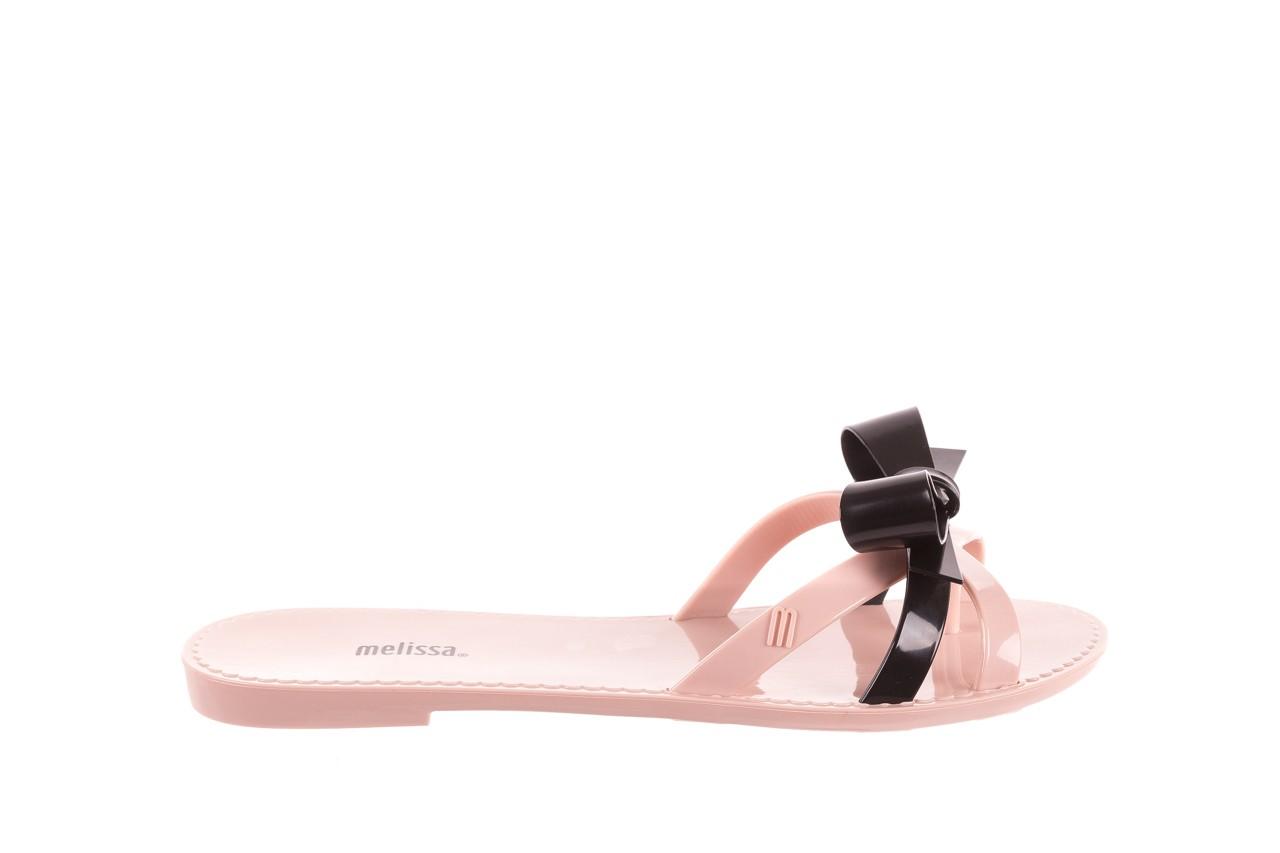 Klapki melissa fluffy ad pink black, róż/czarny, guma - melissa - nasze marki 6