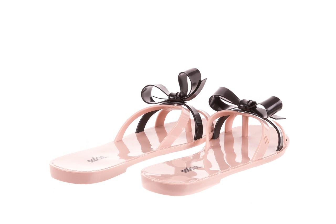 Klapki melissa fluffy ad pink black, róż/czarny, guma - melissa - nasze marki 9