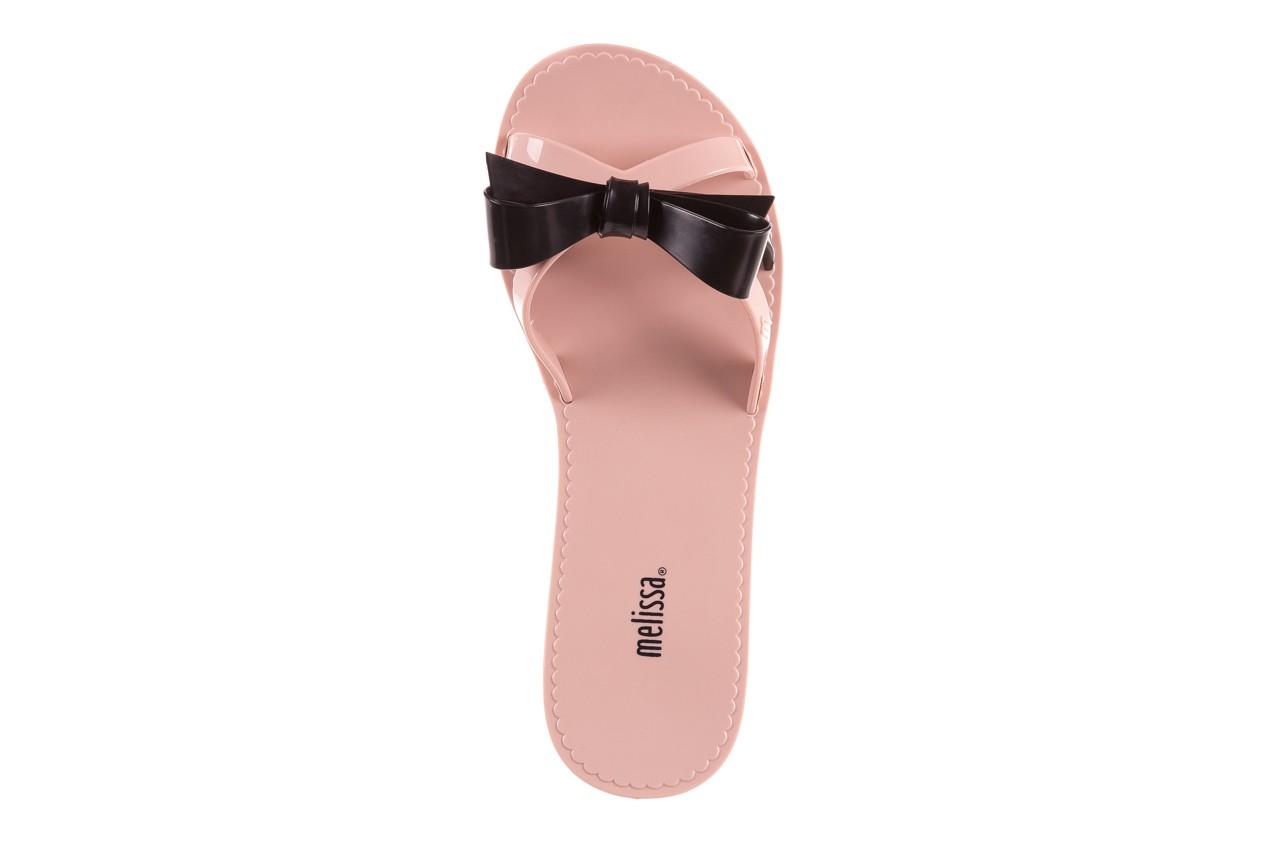 Klapki melissa fluffy ad pink black, róż/czarny, guma - melissa - nasze marki 10