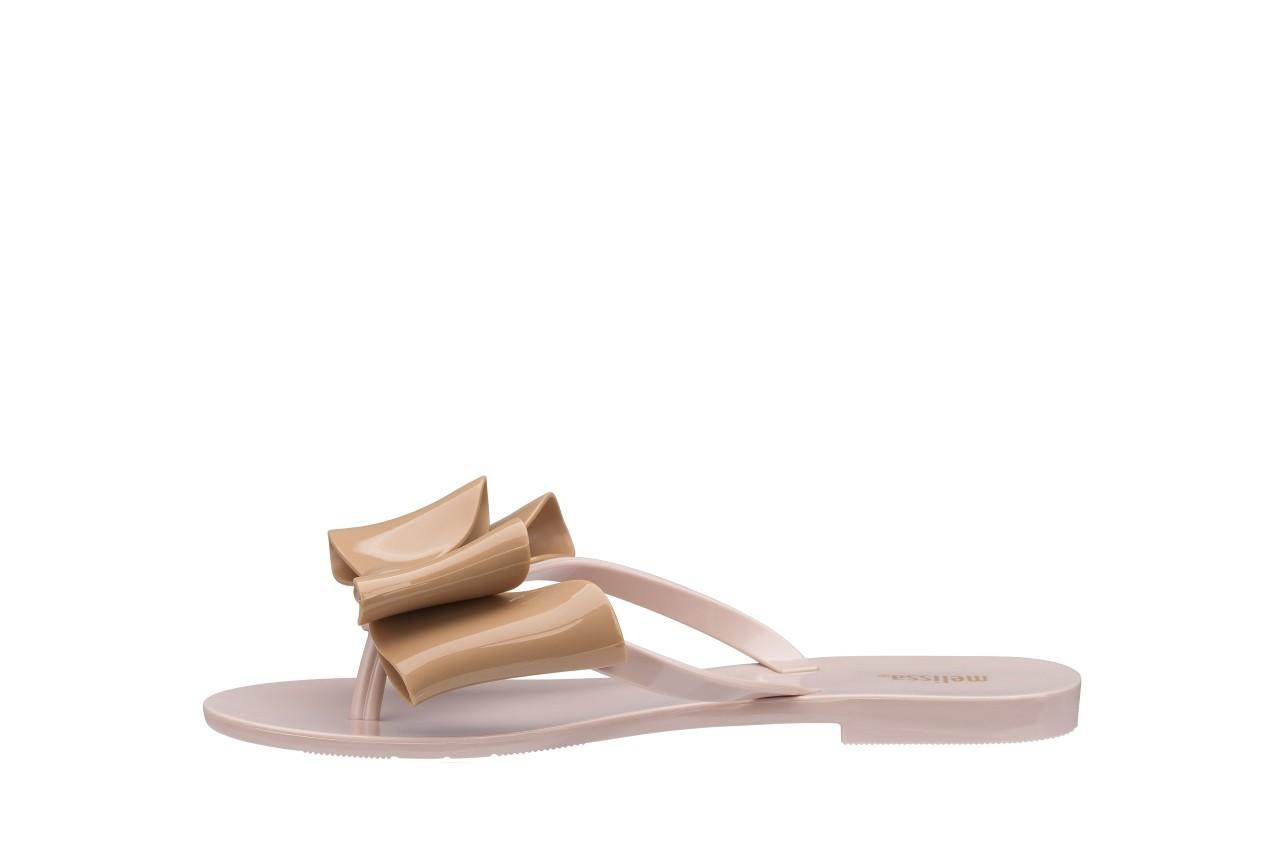 Klapki melissa harmonic bow iv ad pink beige, róż/beż, guma - japonki - klapki - buty damskie - kobieta 5