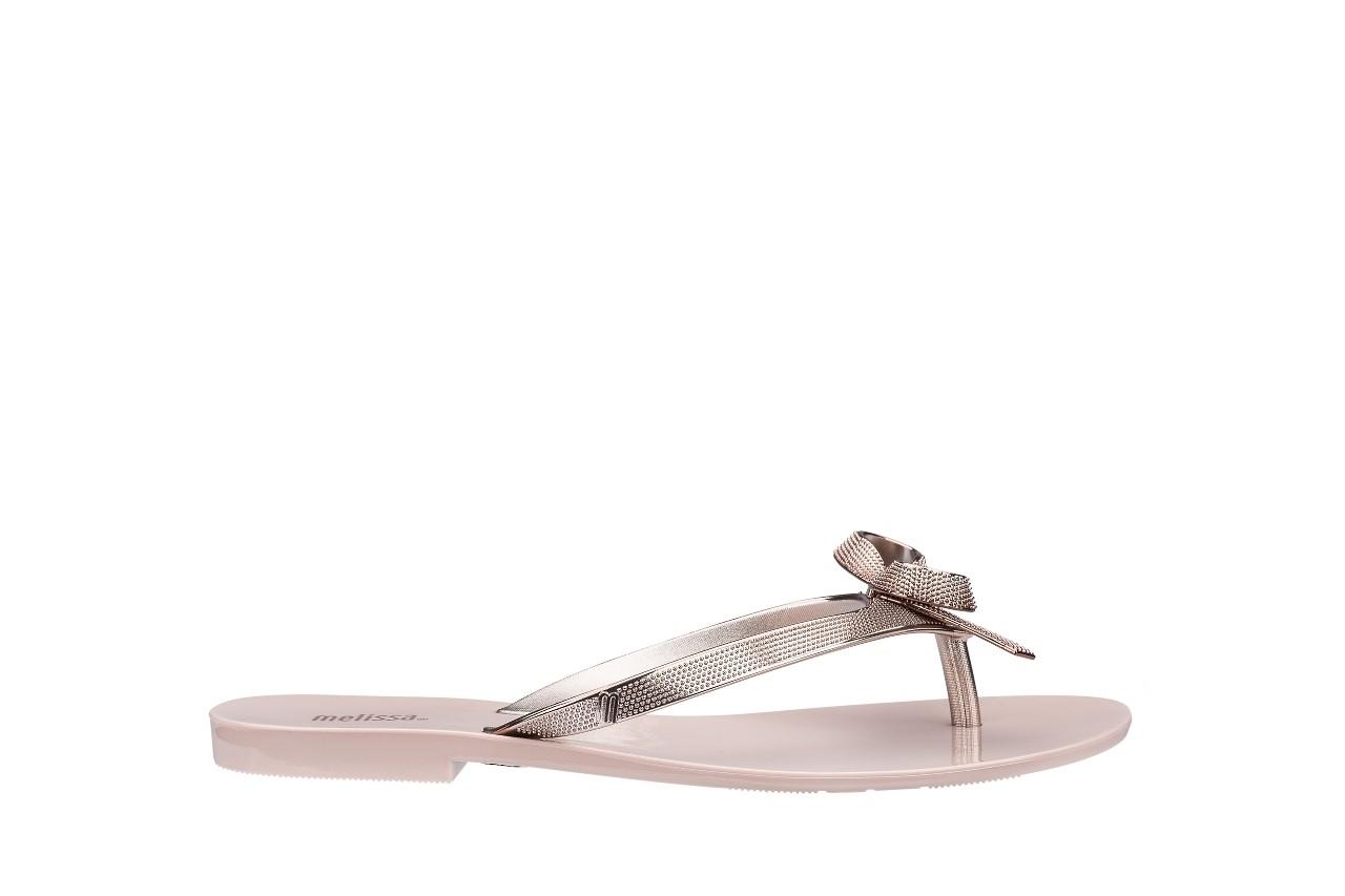 Klapki melissa harmonic chrome ii ad pink metallic 010262, róż, guma - japonki - klapki - buty damskie - kobieta 3