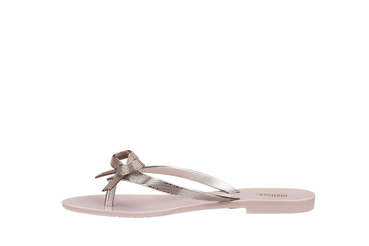 Klapki melissa harmonic chrome ii ad pink metallic 010262, róż, guma - japonki - klapki - buty damskie - kobieta 5