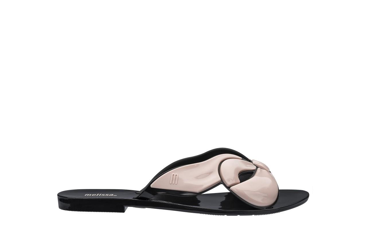Klapki melissa harmonic maxi bow ad black pink, róż/czarny, guma - japonki - klapki - buty damskie - kobieta 3