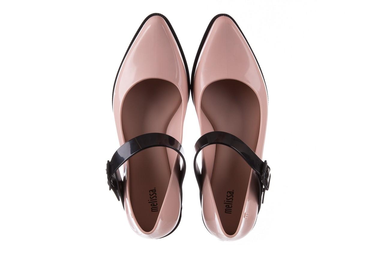 Półbuty melissa mary jane ad pink black, róż/czarny, guma - melissa - nasze marki 15