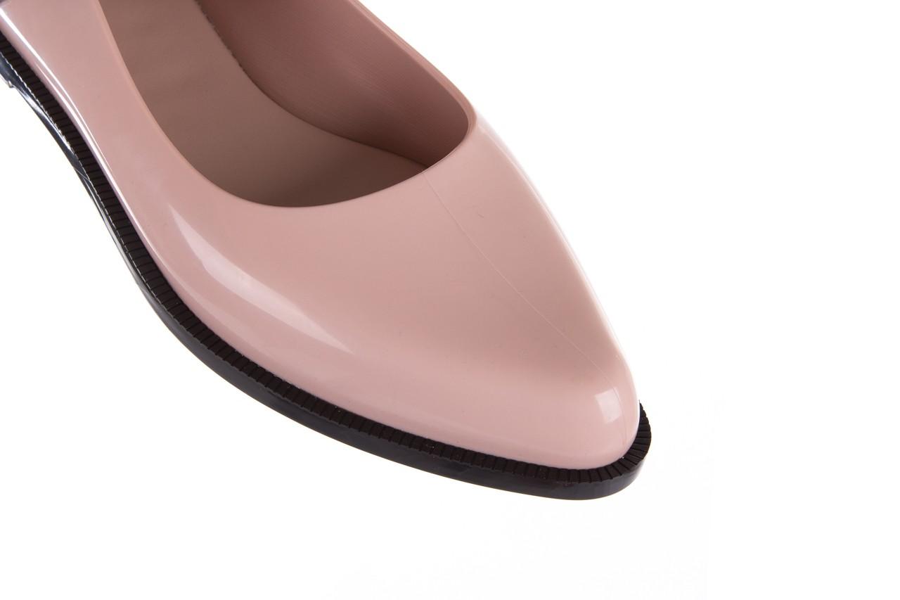 Półbuty melissa mary jane ad pink black, róż/czarny, guma - melissa - nasze marki 16