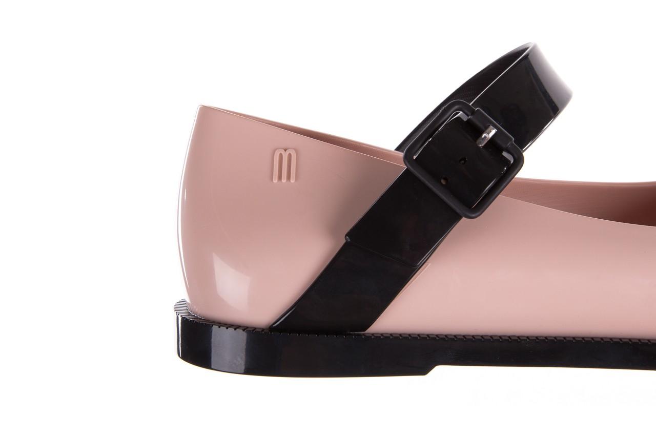 Półbuty melissa mary jane ad pink black, róż/czarny, guma - melissa - nasze marki 17