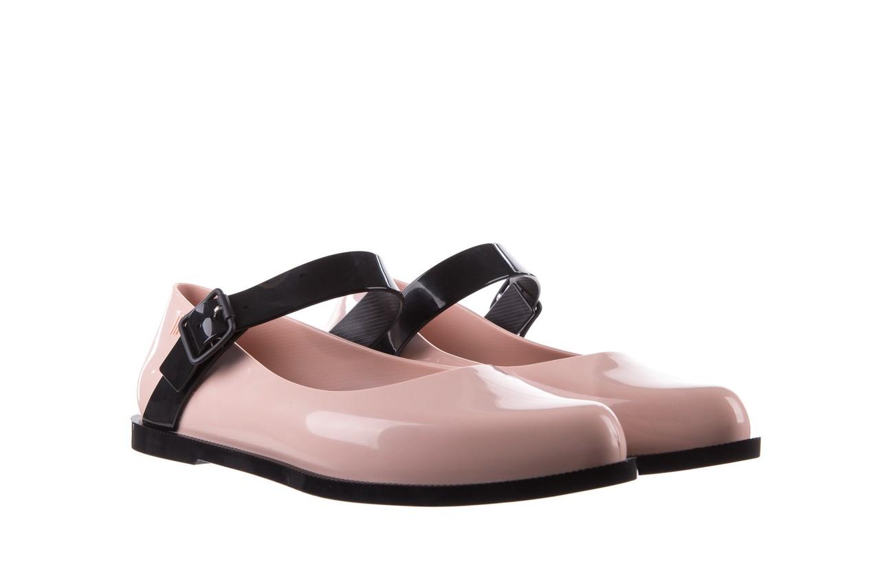 Półbuty melissa mary jane ad pink black, róż/czarny, guma - melissa - nasze marki 10