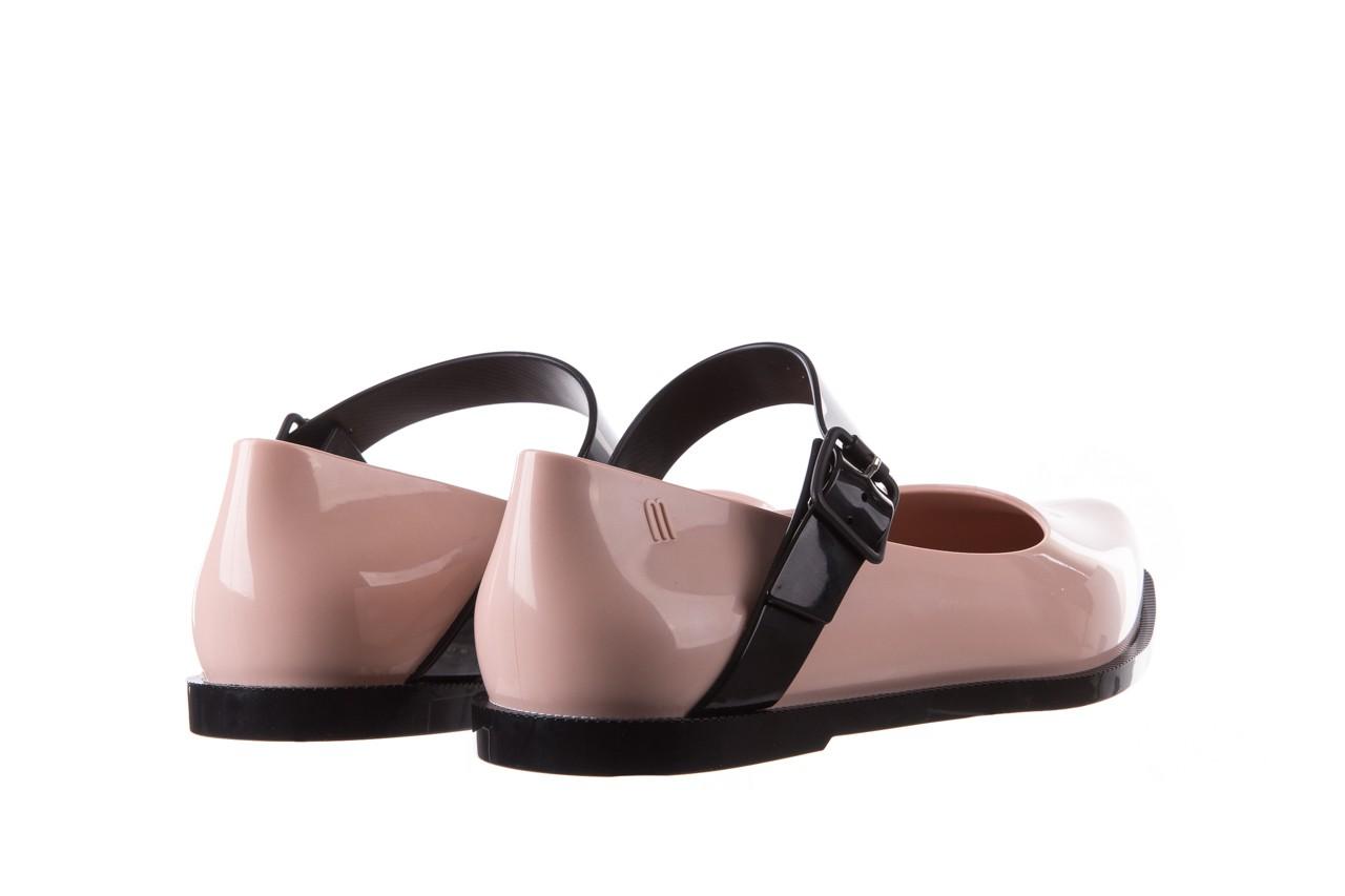 Półbuty melissa mary jane ad pink black, róż/czarny, guma - melissa - nasze marki 14