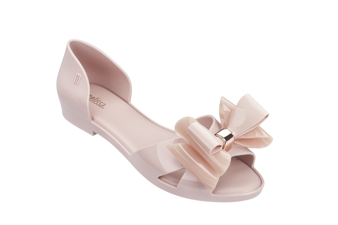Baleriny melissa seduction ii ad light pink 18, róż, guma - melissa - nasze marki 4