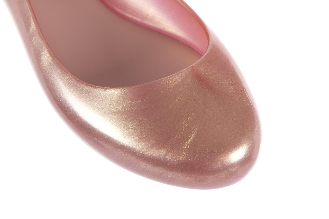 Melissa space love bow ii ad metallic pink - melissa - nasze marki 13