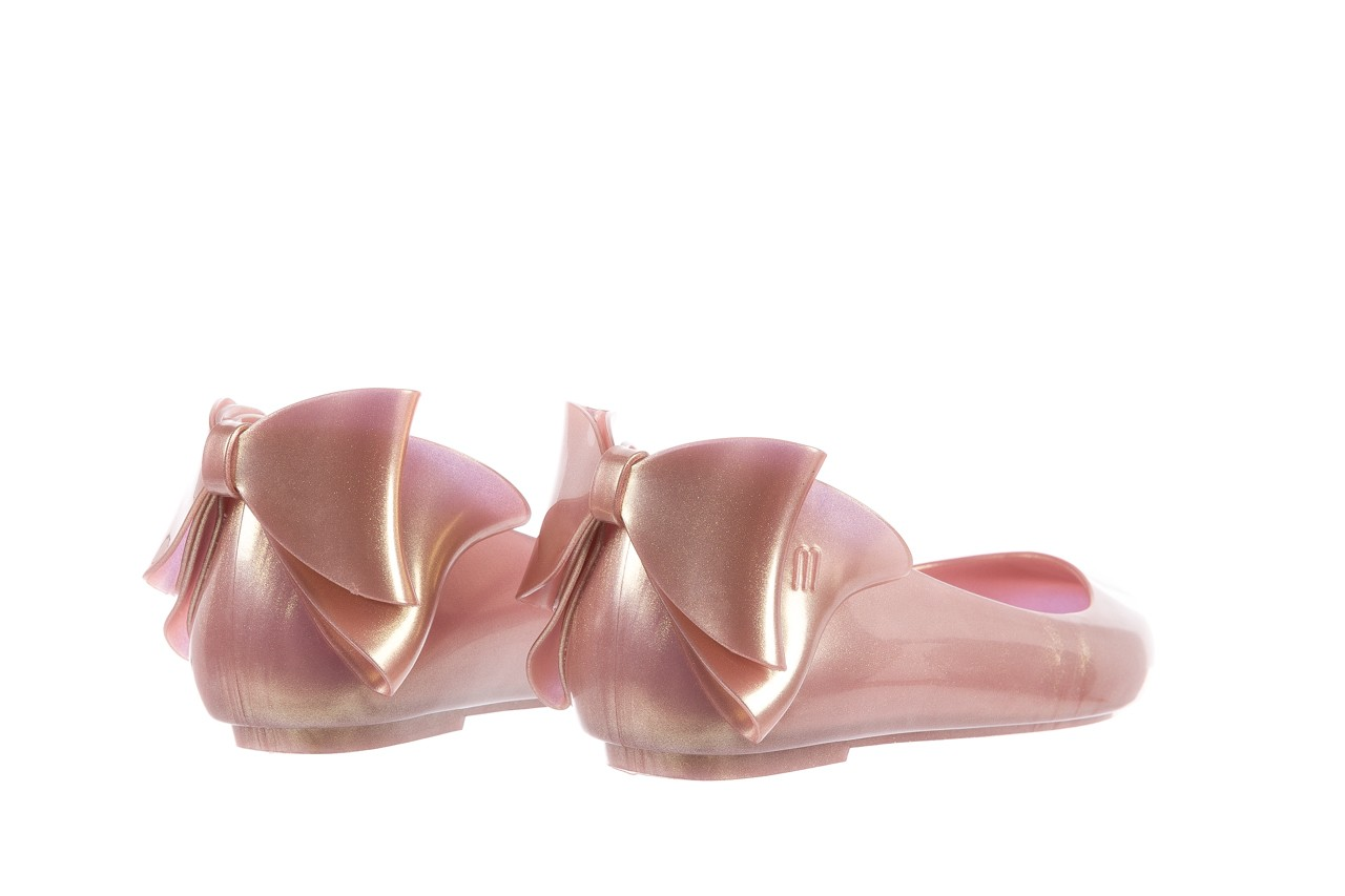 Melissa space love bow ii ad metallic pink - melissa - nasze marki 10