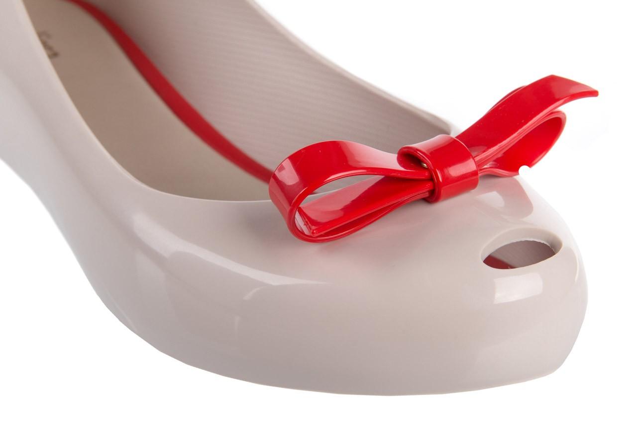 Melissa ultragirl bow ad beige/red - melissa - nasze marki 11