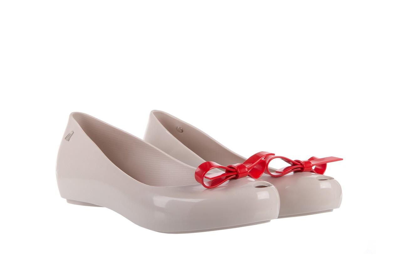 Melissa ultragirl bow ad beige/red - melissa - nasze marki 7